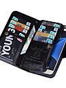 용 Samsung Galaxy S7 Edge 지갑 케이스 풀 바디 케이스 단색 인조 가죽 Samsung S7 edge / S7 / S6 edge / S6 / S5 / S4
