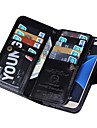Para Samsung Galaxy S7 Edge Carteira Capinha Corpo Inteiro Capinha Cor Única Couro PU Samsung S7 edge / S7 / S6 edge / S6 / S5 / S4