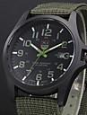 Мужской Армейские часы Календарь Кварцевый Материал Группа Повседневная Черный Синий