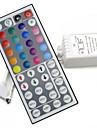 44keys светодиодных ИК RGB контроллер для RGB SMD 3528 5050 полосы регулятора водить свет ИК пульт дистанционного диммер вход DC12V