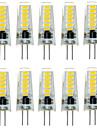 7W G4 Двухштырьковые LED лампы T 12 SMD 5733 500-600 lm Тёплый белый / Холодный белый Декоративная / Водонепроницаемый DC 12 V 10 шт.