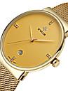 WWOOR Masculino Relógio Elegante Relógio de Moda Relógio de Pulso Calendário Impermeável Noctilucente imitação de diamanteQuartzo Quartzo