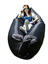 Влагонепроницаемый Водонепроницаемый Сжатие видеоизображений Удобный Надувой коврик Надувной диван зеленый черный синийПешеходный туризм