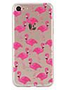 Flamingos Pattern Material TPU Phone Case For iPhone 7 7 Plus 6s 6 Plus SE 5s 5