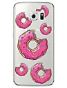 Donuts Tile Pattern Soft Ultra-thin TPU Back Cover For Samsung GalaxyS7 edge/S7/S6 edge/S6 edge plus/S6/S5/S4