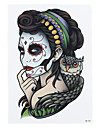 Tatuagens Adesivas Outros não tóxica Estampado Lombar Á Prova d'águaFeminino Masculino Adulto Tatuagem Adesiva Tatuagens temporárias
