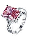 Кольца на вторую фалангу Классические кольца Массивные кольца Рубин Любовь Мода По заказу покупателяДрагоценный камень Стерлинговое
