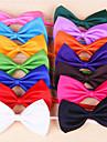 Коты / Собаки пояс/БабочкаКрасный / Оранжевый / Желтый / Зеленый / Лиловый / Черный / Белый / Розовый / Розоватый / Светло-зеленый /