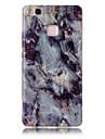Para huawei p9 lite p8 lite tpu material imd processo padrão de mármore modelo soft shell y6ii y5ii 4c
