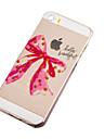 용 아이폰5케이스 울트라 씬 / 투명 / 패턴 케이스 뒷면 커버 케이스 카툰 소프트 TPU iPhone SE/5s/5