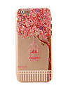 Fairy Tale Bird Cage Style Plastic Hard Back Cover for iPhone 6