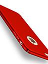 Para iPhone 8 iPhone 8 Plus iPhone 7 iPhone 6 Capinha iPhone 5 Case Tampa Galvanizado Capa Traseira Capinha Côr Sólida Rígida PC para