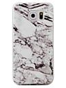 Pour samsung galaxy s7 bord s6 housse couverture marbre modèle tpu matériel téléphone cas s7 s6 bord s5 s4 s3