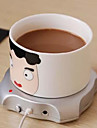 usb xícara quente de café do escritório bebida de inverno caneca de chá aquecedor de almofada da esteira 2.5W 5V computador quente