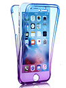 제품 iPhone 8 iPhone 8 Plus iPhone 7 iPhone 7 Plus iPhone 6 케이스 커버 충격방지 풀 바디 케이스 컬러 그라데이션 소프트 TPU 용 Apple iPhone 8 Plus iPhone 8 아이폰 7 플러스