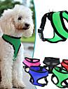 Собаки Ремни Регулируется/Выдвижной / Дышащий Твердый Красный / Черный / Зеленый / Синий / Лиловый / Розоватый Нейлон / Сетка