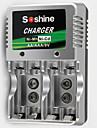 SoShine AA/AAA/9V Ni-MH/Ni-Cd Battery Smart Super Rapid Charger
