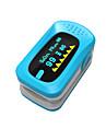 ying shi affichage oxymètres de pouls doigt manuel lcd avec batterie de stockage voix / mémoire blanc / rouge / vert / bleu / orange