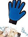 고양이 강아지 클리닝 목욕 애완동물 미용 용품 방수 통기성 캐쥬얼/데일리 블루