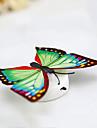 3шт творческая красочная паста ночник лампа декоративные бабочки младенца bedlight (случайный цвет) с батареей