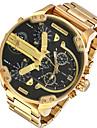 Мужской Армейские часы Нарядные часы Модные часы Наручные часы Календарь С двумя часовыми поясами Панк Кварцевый сплав ГруппаС подвесками
