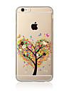 Для Прозрачный / С узором Кейс для Задняя крышка Кейс для дерево Мягкий TPU для AppleiPhone 7 Plus / iPhone 7 / iPhone 6s Plus/6 Plus /