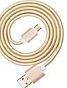 USB 2.0 Tressé Câble Pour Huawei Sony LG Lenovo Xiaomi 100 cm Nylon