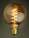 E27 AC220-240V 40W Silk Carbon Filament Incandescent Light Bulbs G95 Around Pearl