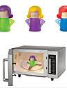 bonito irritado tipo mama limpador de ferramentas de limpeza doméstica vapor usado para forno microondas 11 * 13,5 centímetros