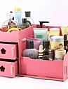 Organizador para Maquiagem Caixa de Cosméticos / Organizador para Maquiagem Cor Única 30.0 x 19.0 x 17.0