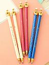 Шариковая ручка с короной на конце (разные цвета)