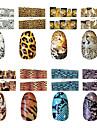 Стикер искусства ногтя 3D наклейки на ногти Абстракция макияж Косметические Ногтевой дизайн