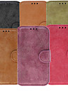 Pour Samsung Galaxy Coque Porte Carte Avec Support Clapet Coque Coque Intégrale Coque Couleur Pleine Cuir PU pour Samsung S3
