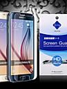 hd protecteur d'écran avec la poussière absorbeur pour Samsung Galaxy S6 (3 pièces)