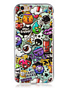 For Glow in the Dark  IMD Case Back Cover Case cartoon animals  Soft TPU for Apple iPhone 7 Plus  7  6s Plus 6 Plus   6s  6  SE 5 S5 5C