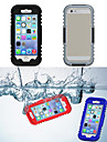 IP68 Waterproof  Protective Plastic and Silicone Shell Case for iPhone 6 Plus