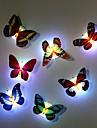 7 couleurs changeantes papillon a mené la lampe de lumière de nuit
