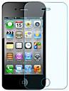 Professionnel de haute transparence Protecteur d'écran Screen avec chiffon de nettoyage pour iPhone 4/4S