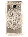 For Samsung Galaxy J5 J5(2016) J3 J3(2016) G530 Case Cover Mandala Flowers Pattern IMD Process Painted TPU Material Phone Case