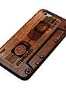 Pour Coques iPhone 6 Plus Etuis coque Coque Arrière Coque Dur Bois pour iPhone 6s Plus iPhone 6 Plus