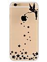 Para Ultra-Fina Estampada Capinha Capa Traseira Capinha Mulher Sensual Macia TPU para AppleiPhone 7 Plus iPhone 7 iPhone 6s Plus/6 Plus
