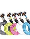 cores sortidas Apple IFM certificada 30pinos ao cabo plano carregador de sincronização de dados USB para iPhone 4 / 4s / ipad 2/3 / 1 / ipod
