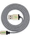 вырезать (4 фута) 1.2m MFI сертифицированный молнии для USB Кабель синхронизации и зарядки для Apple Iphone 7 6s плюс / Ipad