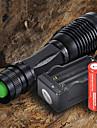 LED손전등 손전등 LED 2200 루멘 5 모드 Cree XM-L T6 18650 AAA 조절가능한 초점 캠핑/등산/동굴탐험 일상용 사이클링 여행 일 등산 알루미늄 합금