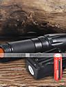 Наборы фонариков LED 2200 Люмен 5 Режим Cree XM-L T6 18650 Фокусировка Походы/туризм/спелеология Повседневное использование Рабочий