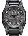 Мужской Спортивные часы Армейские часы Нарядные часы Модные часы Уникальный творческий часы Повседневные часы Наручные часы Часы-браслет
