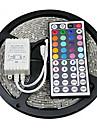 Z®zdm водонепроницаемый 5 м 24w 300x2835rgb smd свет водить полоса света 44key ir пульт дистанционного набора (dc12v)
