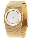 ASJ Mulheres Relógio Elegante Relógio de Moda Relógio de Pulso Japanês Quartzo Lega Cobre Banda Elegantes Luxuoso Dourada Dourado