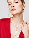 Femme Colliers chaînes Collier Y En forme de Y Balle Argent sterling Mode Long Personnalisé Argent Bijoux PourSoirée Halloween Quotidien