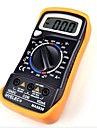 Black Yellow MAS830L Volt Amp Ohm Meter Digital Multimeter w 2 Cables